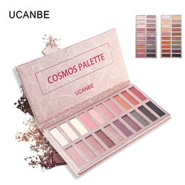 Discount smokey eyeshadow makeup - Original UCANBE 20 Color Shimmer Matte Eye Shadow Makeup Palette Smokey Warm Pigmented Eyeshadow Powder Long Lasting Cos