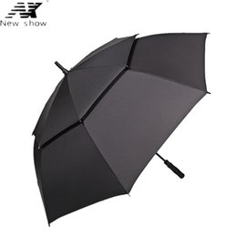$enCountryForm.capitalKeyWord NZ - NX Large golf umbrella Windproof double layer 135cm glass fiber man business Advertising sun rain long umbrella wholesale
