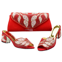 82fd2eae0d3c Decorating shoes rhinestones online shopping - New Arrival Italian Ladies  Shoes and Bags To Match Shoes