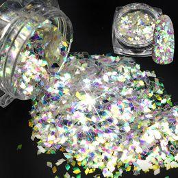 $enCountryForm.capitalKeyWord NZ - 2018 NEW 1Bottle Colorful Rhombus Design Glitter Polish Thin Paillette Nail Art Decorations Tips UV Gel Nai Manicure BELQ01