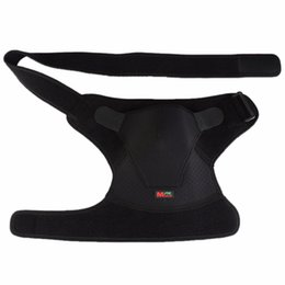 Chinese  1 pcs Mumian G02 Adjustable Sports Therapy Shoulder Brace Shoulder Back Support Belt Single piece Wrap Sports Pretector Right manufacturers