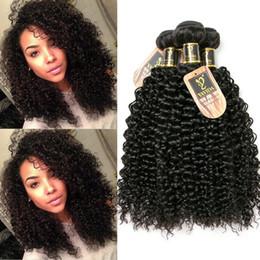 $enCountryForm.capitalKeyWord NZ - Fulgent Sun Factory Price curly human hair afro kinky hair extensions 3 bundles virgin human hair bundle dhgate china supplier Total 300g