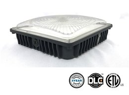 led gas canopy lights UK - UL DLC Approved 45W 70W LED Canopy Light Industrial Factory Led High Bay Light Gas Station Lamp Parking Garage Warehouse Lamps AC 100-277V