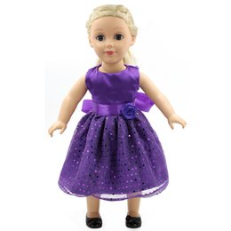 76e7fd9fe8a8 American Gift Girl Doll Accessories 13 Colors Dress 13 Selctions Cute Baby  Gift Doll Beauty Dress Clothes for 18 Inch Dolls D-15