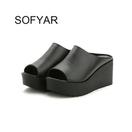 $enCountryForm.capitalKeyWord Australia - High heels slides summer spring women shoes solid sexy shoes outside ladies slipper high quality free shipping adult shoes