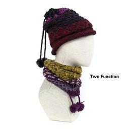 2018 новых женщин или мужчин Осень Зима толстый теплый шейный платок две функции сплошной шерстяной шарф мода набор головной платок бренд шейный платок
