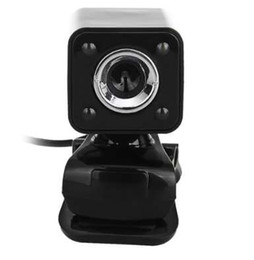 Chinese  1080P 800W 4 LED HD Webcam Camera + USB 2.0 Microphone for Computer PC Laptop Black manufacturers