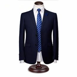sky blue color tuxedo 2019 - Men suits jacket stylish elegant bridegroom wedding tuxedos jacket solid color single breasted formal business suits che