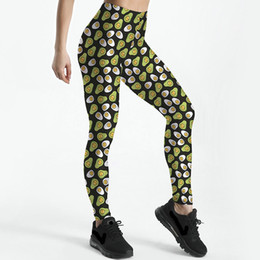 1f53137e388503 Woman Wearing Tight Clothes Australia - Yolk face pants Funny egg tight  skinny Good elastic fastness