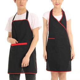 Hotel Restaurant Uniform Canada - ON SALE Free shipment JI-256 Household Restaurant Hotel Uniform Workwear Apron Kitchen Cooking Apron Men Women Long Chef Apron