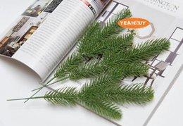 Commercio all'ingrosso di vendita al dettaglio verde Natale simulazione pino fai da te vacanze di Capodanno forniture artificiali accessori corona verde vegetale