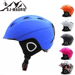 Pink Half Helmet NZ - SJ-Maurie Men and Women Ski Helmet Ultralight Half-Covered Breathable Skateboard Ski Snowboard Helmet CE Certification