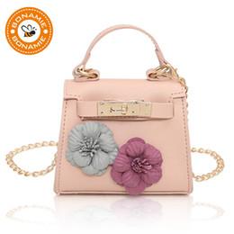 $enCountryForm.capitalKeyWord Canada - BONAMIE Handmade Flowers Party Evening Handbag Fashion Women Girl Mini Shoulder Bag Lady Female Chain Small Cross Body Bag