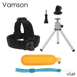 Gopro sjcam kit online shopping - Tripod Mini Monopod Head Strap Floaty Bobber with Screw For Xiaomi for Yi K for Gopro Hero SJCAM SJ4000 VS49