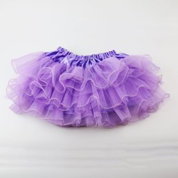 $enCountryForm.capitalKeyWord UK - Wennikids Summer Baby Girl Candy Color Half-length Tulle Tutu Skirt Solid Color Wholesale Fashion Ball Gown Age 2-7