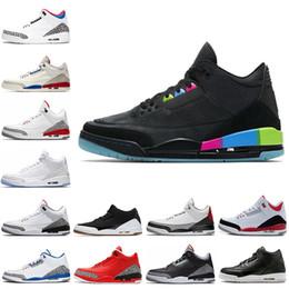 821618a3790f 2018 Quai 54 3s Basketball Shoes Pure White JTH Seoul Tinker Q54  International Flight Black Cement Grateful Cyber Monday Men Sports Sneakers