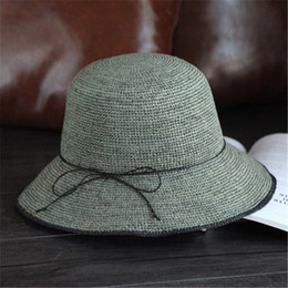 439065a991f87 Lafite straw hat female summer leisure vacation sun hat travel visor simple  cool