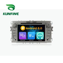 Ford Touch Screen Stereo Australia - Octa Core 4GB RAM Android 8.0 Car DVD GPS Navigation Multimedia Player Car Stereo for FORD Focus 2007-2010 Radio Headuint Wif