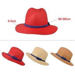 Women Lady Hat Straw Beach Sun Cap Panama Summer Classic Sunhats Female  Boater BB55 2f77371a716b