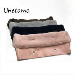 Discount mini trimmers - Unetome New Plush Trim for O BAG Thermal Plush Decoration Fur Fit for Classic Big Mini Obag Women Bag
