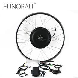 $enCountryForm.capitalKeyWord NZ - Free shipping LCD system waterproof brushless Non-gear hub motor rear wheel 48v 1000W electric bike kit with 26 27.5 28inch rim