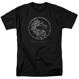 stone kids UK - Mortal Kombat X Stone Seal T-shirts for Men Women or Kids O-Neck Fashion Casual High Quality Print T Shirt