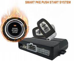 Опт Универсальный многофункциональный смарт ПКЕ Passive Keyless Enter Push Start Автосигнализация System One Click Engine Start