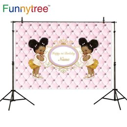 $enCountryForm.capitalKeyWord Canada - wholesale birthday photography background headboard pink little black girl party cute crown frame custom decor photoshoot prop