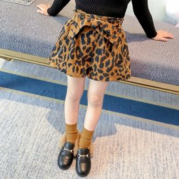 $enCountryForm.capitalKeyWord NZ - NEW ARRIVAL Autumn Winter Fashion corduroy Girls Shorts Korean leopard print Children Shorts Boutique Girl Clothes kids clothing A2083