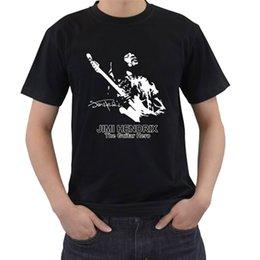 Black S Guitar Canada - JIMI HENDRIX Soul Power Rock Guitar Legend Mens Black T-Shirt Size S-3XL
