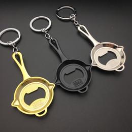 Discount mini bottle keychain - Portable Mini Bottle Opener Key Ring Chain Keyring Keychain Metal Beer Bar Tool fast shipping jc-025