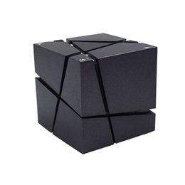 Portable Speakers New Rubiks Cube Shape Wireless Bluetooth Speaker Colorful Flashlight Portable Personalized Mini Card Insert Small Speaker Speakers