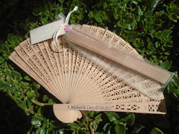 personalized hand bags Australia - 10pcs custom any text wedding sandalwood hand fans giveaways favors, personalized Engraved Lace Wood Hand Fans with organza bags