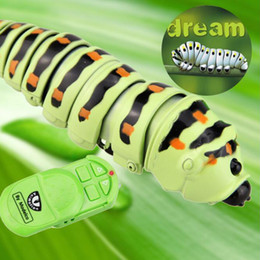 Gadgets For Fun Australia - New Arrival Gags Practical Jokes Funny Gadgets Remote Control Bionic Worm Plastic Bromas Toys Magic Bug For Children Fun Toys