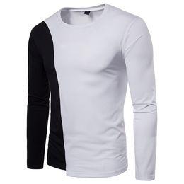 $enCountryForm.capitalKeyWord Australia - MUQGEW sweatshirt men 2018 hoodies brand male long sleeve patchwork shirt hoodie white and black big size moletom masculino