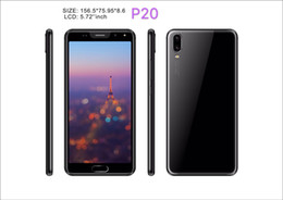 smart touch mobile phone UK - P20 5.72Inch Smart Phone 512MB Ram 4G Rom MTK6580 Quad Core Mobile Phone 2MP Rear Camera Sealed Box Cheapest Phone In stock