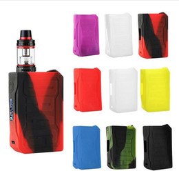 E cig accEssoriEs casE online shopping - Hot selling Colorful DRAG Silicone Case Soft Silicon Protective Cover Skin Sleeve Wrap Accessory for Voopoo DRAG W E Cig Vape Box Mods