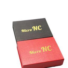 $enCountryForm.capitalKeyWord UK - 2016 Glass Bongs MIcro NC Kit With 10mm Titanium Nail Quartz Tip Joint Oil Rig Bongs With Red Black Gift Box DHl Free
