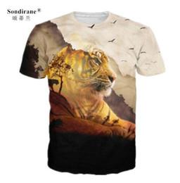 Mens Casual Short Sleeve T Shirts Australia - New Fashion Womens Mens Tiger Animal Funny 3D Print Casual T-Shirt Short Sleeve Quick Dry Tops Hip Hop Street T Shirts