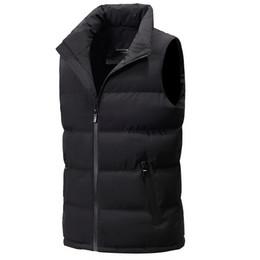 e732be88da158 Classic Winter Coats For Men UK - classic light men vest down korean  streetwear clothing casual