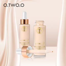 $enCountryForm.capitalKeyWord Canada - O.TWO.O Brand Liquid Foundation Easy To Wear Face Foundation Oil-control Flawless Concealer Primer Face Base Makeup