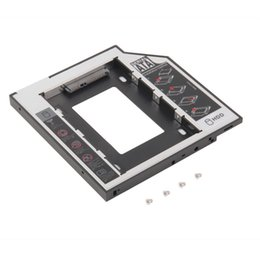 Discount rom hard drive - 9.5mm Universal SATA 2nd HDD SSD Hard Drive Caddy for CD DVD-ROM