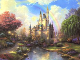 $enCountryForm.capitalKeyWord UK - Unframed or Framed Thomas Kinkade Landscape Oil Painting Reproduction High Quality Picture Printed On Canvas Modern Home Art Decor HT286