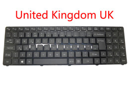 Chinese  Laptop Keyboard For Quanta TWD TWS Turkey TR MP-12K76TQ-920 United Kingdom UK MP-12K76GB-920 AETWDE00010 black with frame new manufacturers