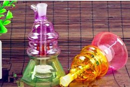 $enCountryForm.capitalKeyWord NZ - Double colored glass special-shaped filter water bottle Glass Bong Water Pipe Bongs Pipes SMOKING Accessories Bowls
