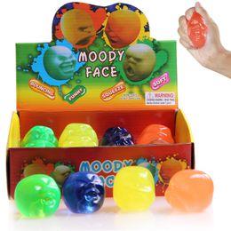 $enCountryForm.capitalKeyWord Australia - Moody Face Thinking Putty Intelligent Creative Hand Gum Ramen soil Elasticity Environmental protection material Slime Mud Novelty Gag Toys