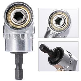 "Electric Gardening Tools NZ - 105 Degrees 1 4"" Electric Hex Drill Bit Adjustable Hex Bit Angle Driver Screwdriver Socket Holder Adaptor tools"