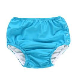 Swimwear for toddlerS online shopping - Baby Swim Diaper Diaper Waterproof Swimwear Panties Cloth Diapers Swimming Pool Pants For Infant Toddler Kids Boys Girls