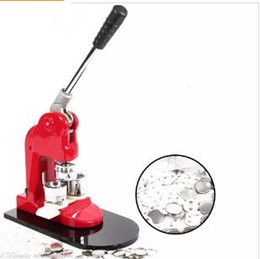 Wholesale buttons makers for sale - Group buy 1inch mm Badge BUTTON MAKER PRESS Making Kit Button Maker Machine and Badges Parts and Circle Cutter