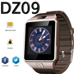 Wholesale DZ09 smart watch android GT08 U8 A1 samsung Designer watches SIM Intelligent mobile phone watch can record the sleep state Smart band Women